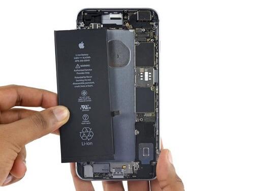 تعمیر باتری ایفون 6s